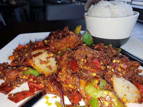 Cumin flavor beef - extra spicy