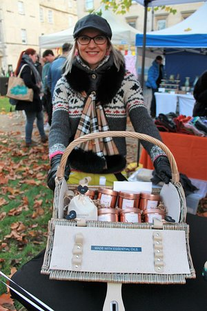 You will find the friendliest traders at Bath Artisan Market!