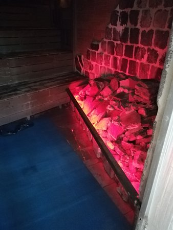 varias saunas