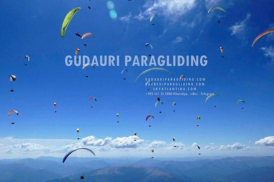 gudauri paragliding kazbegi