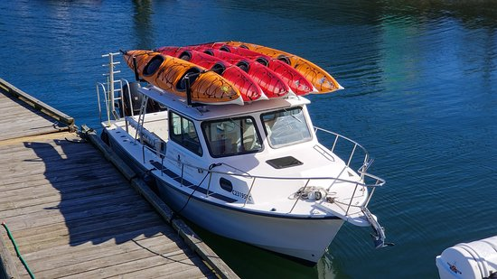 Ucluelet, Kanada: Kayak and canoe rentals with shuttle service direct to the Broken Group Islands