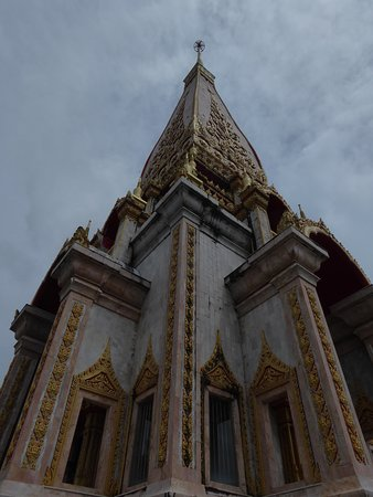 Oberster Raum in Wat Chalong