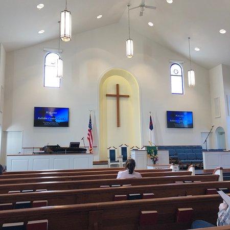 Ballston Center Church: Very nice church