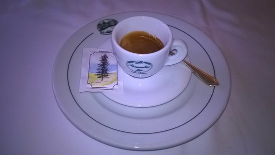 Restaurant La Grotta: caffè