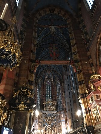Церковь Успения Пресвятой Девы Марии (Мариацкий костёл): Fascinující