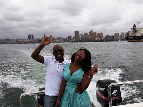 Sea and Harbour Boat Cruises / Trips / Rides/ Tours / Hire in Durban with Durban Cruise Boat at Wilsons Wharf