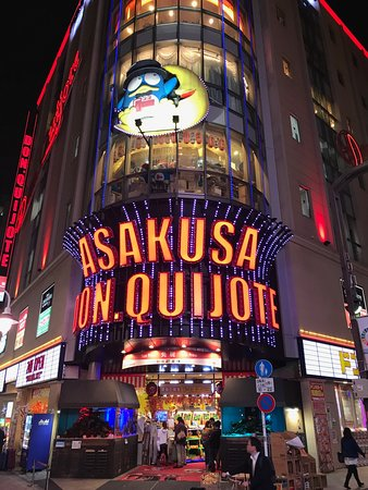 You can buy almost anything at Asakusa Don Quijote up the road. It is like a cross between ALDI, JB-Hi-Fi, and Dan Murphys.