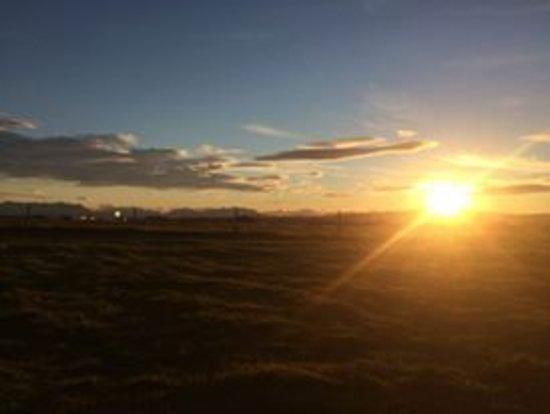 Пуэрто-Наталес, Чили: puesta de sol Patagonia Twins