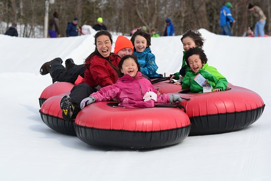 Laurel Highlands, PA: Spend a day snowtubing, full of laughs and rides.