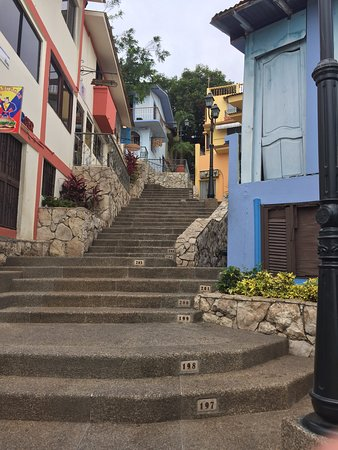 colorful houses along the way