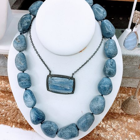 Kyanite Necklaces