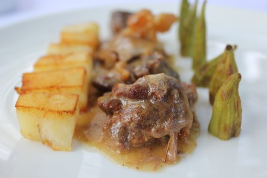 Hoteli Gjuetise: Traditional dish in our way