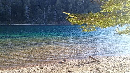 Lago Espejo Chico: Rio Ruca Malen