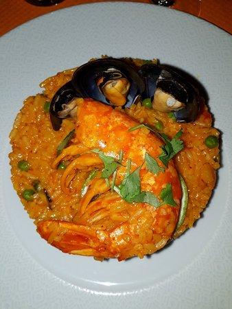 Paso Doble: Cevice de grands couteaux et paella péruvienne avec une vraie grosse gambas malgache