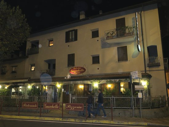 Ristorante Gnocchetto: Use a GPS or a local to find this place!