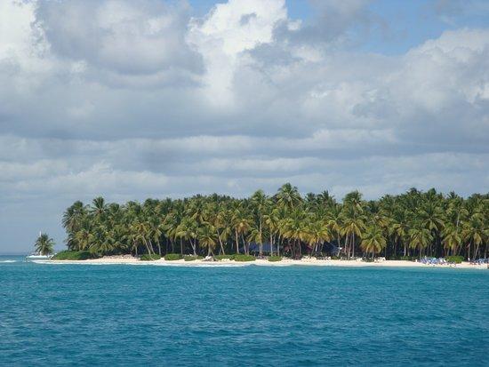 Es la isla Saona
