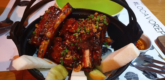 Filipino food with a twist