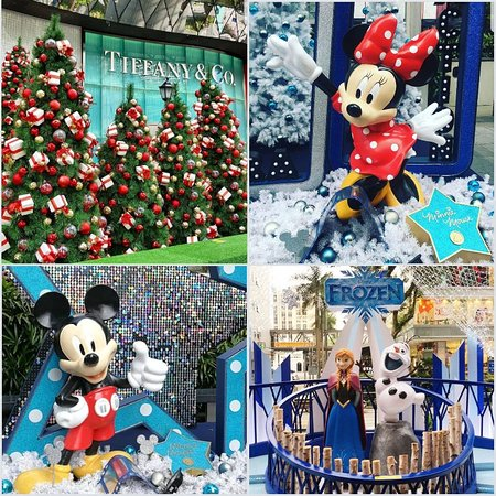 Орчард-роуд: Singapore's favorite shopping street is all decked out with Disney characters & fairy lights for Christmas 2018.