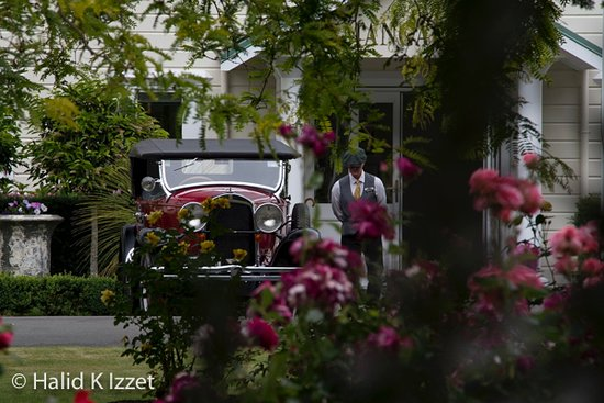 """Half-Day Vintage Car Tour with Food Platter Up To 4 Passengers: """"I'll just wait by the car"""""""