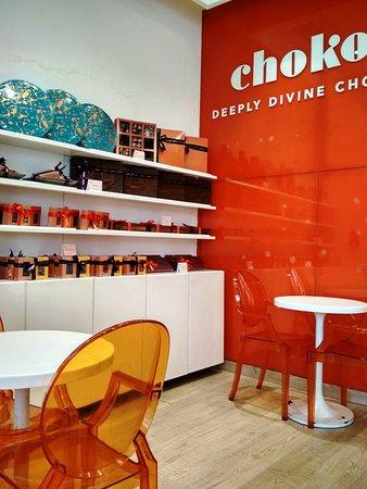 At Chokola, an array of chocolates and more