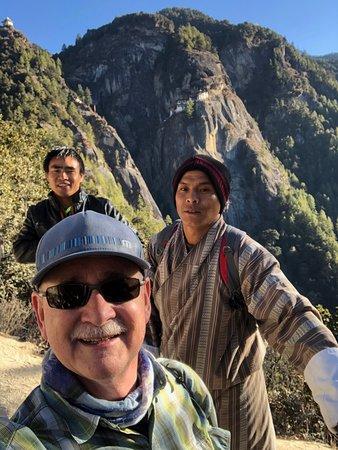 Trekking to Tiger's Nest