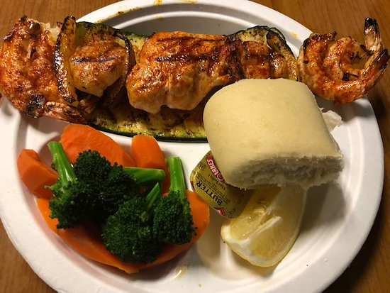 Seafood Kabob