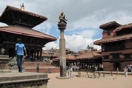 Stadtrundfahrt von Bhaktapur und...