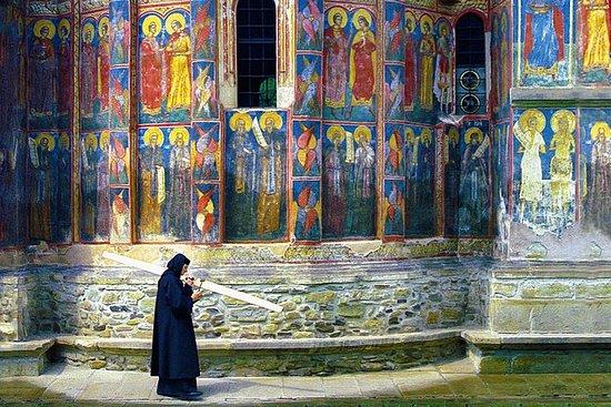 Bucovina Painted Monasteries tur fra...