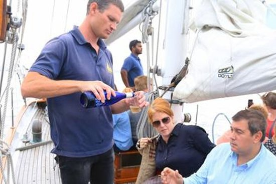 New York Sailboat Cruise with Wine Cheese and Charcuterie