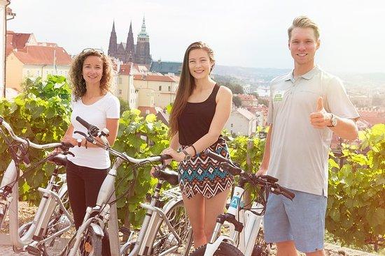 Prague E-bike Guided Tour with small...