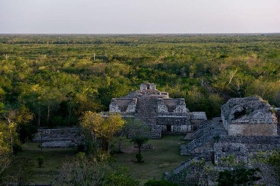 Ek Balam Express Maya Ruinen Tour von...