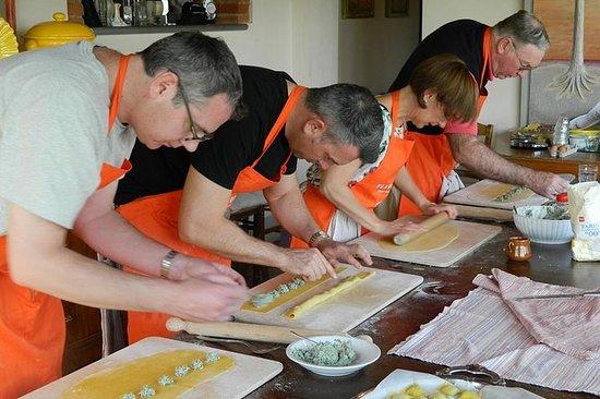 Clases privadas de cocina en Toscana...