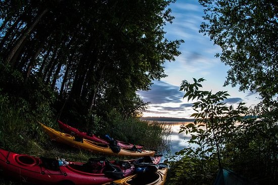 Private Night Kayak Tour in Trakai...