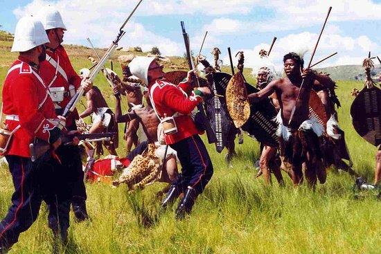 Tour de la batalla de Isandlwana...