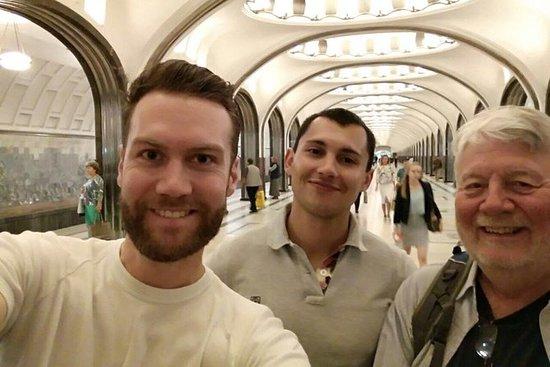 Visite privée du métro de Moscou