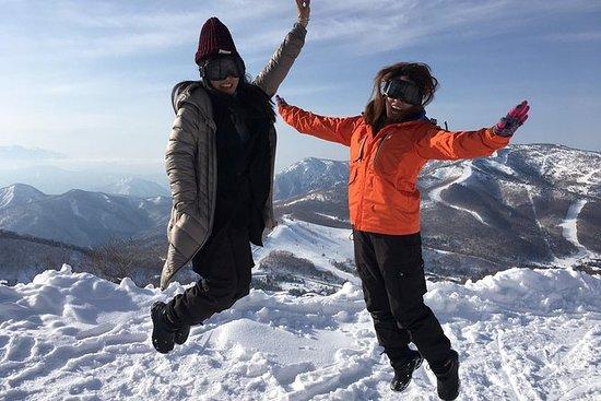 ニホンザルや雪を楽しむ長野・志賀高原1日ツアー