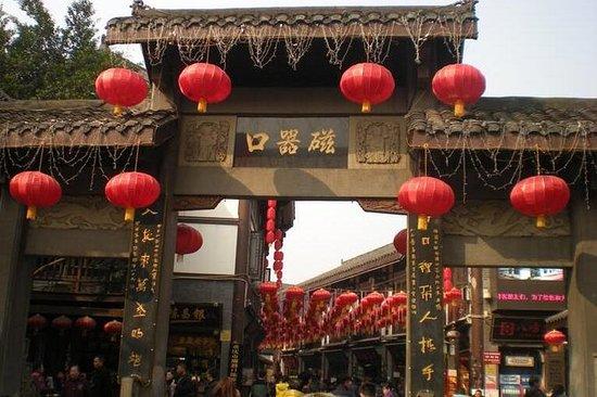 Ganztägige private Tour von Chongqing...
