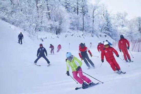 Viaje privado de esquí a la estación...