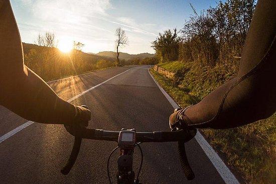 Faire du vélo en Toscane: pédaler...