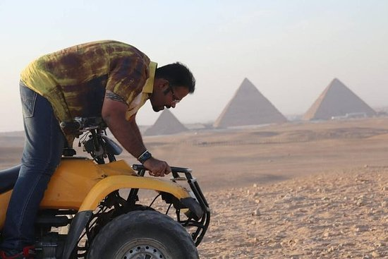 Cairo Desert Safari Ved Quad Bike...