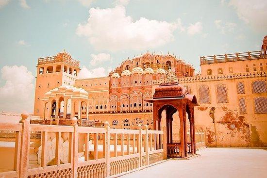 Ausflug nach Jaipur City Palace...