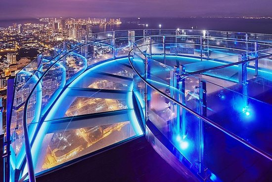 Private Dinner at THE TOP with Skywalk Experience from Penang: Dinner @ The Top Penang inclusive of Skywalk