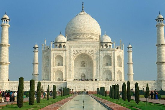 All Inclusive Private Sunrise tour of Taj Mahal from Delhi by Car: Sunrise View of Taj Mahal from Delhi