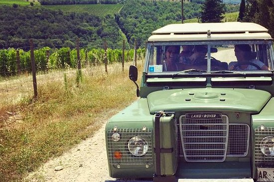 Off Road Wine Tour i Chianti Valley ...