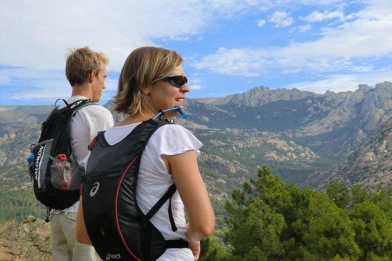 Caminata de montaña en Madrid...