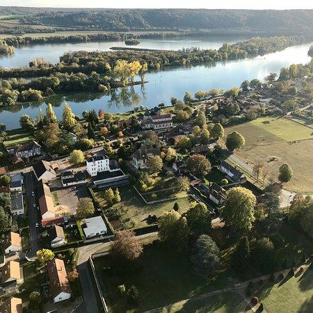 Boos, Frankrike: Survol des boucles de Seine, en Montgolfière !