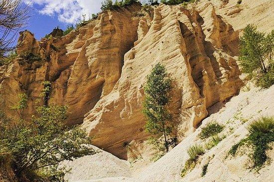 Trekking delle Lame Rosse, Monti