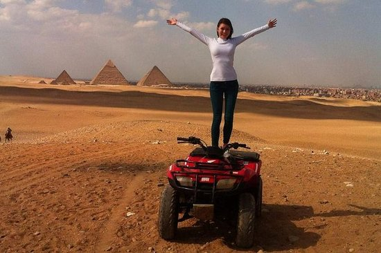 Desert Safari en Quad Bike Around...