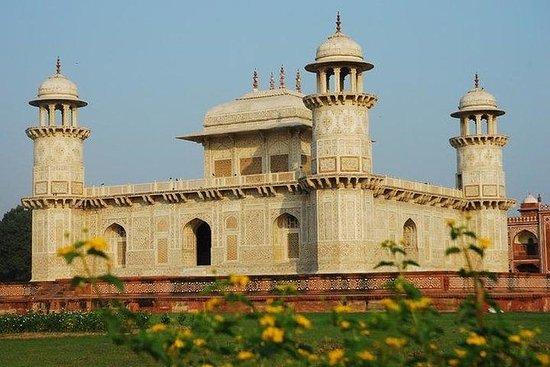 Full Day Agra Tour of Taj Mahal, Baby Taj, Red Taj and Replica Taj
