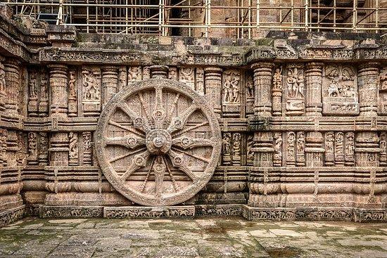 Excursão ao Templo do Sol Konark
